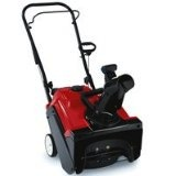 Toro 180 Single Stage Snow Blower, snow thrower, electric