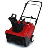 toro 210 electric snow blower, 21 inch, snow thrower